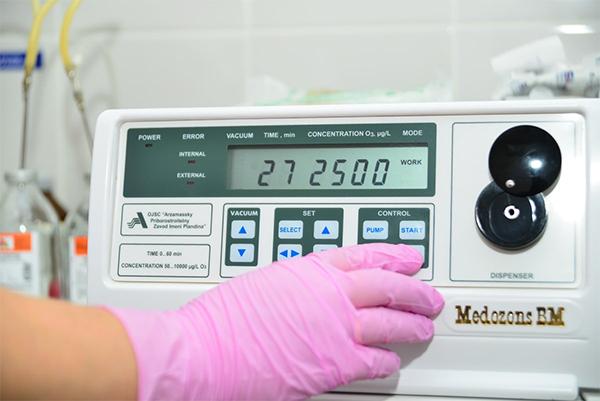 Озонотерапия против вирусов